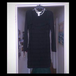 Classy Max Studio Black Dress